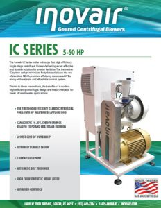 Inovair IC Series Product Brochure